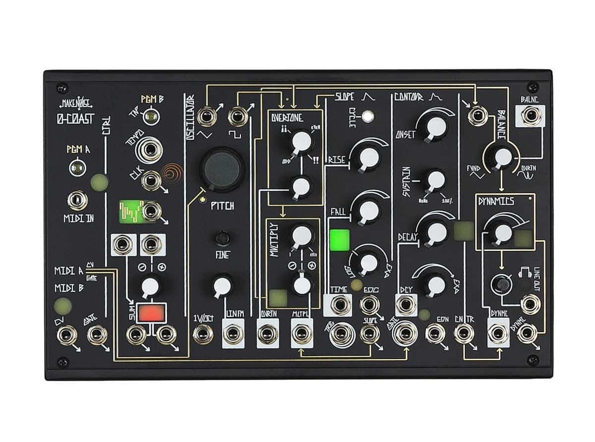 make noise 0 coast standalone modular synth is available for preorder idesignsound. Black Bedroom Furniture Sets. Home Design Ideas